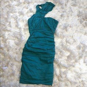 Nicole Miller dress Aqua